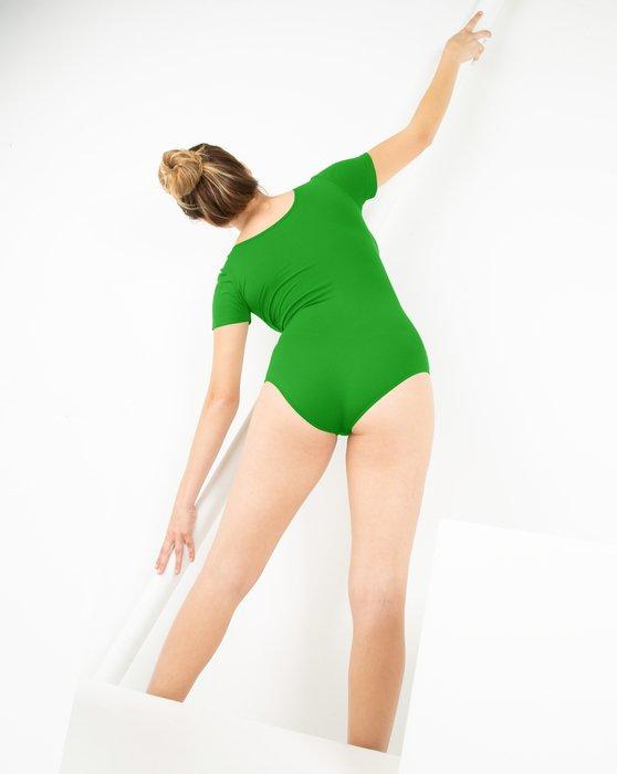 Kelly Green Short Sleeve Bodysuit Style# 5013 | We Love Colors