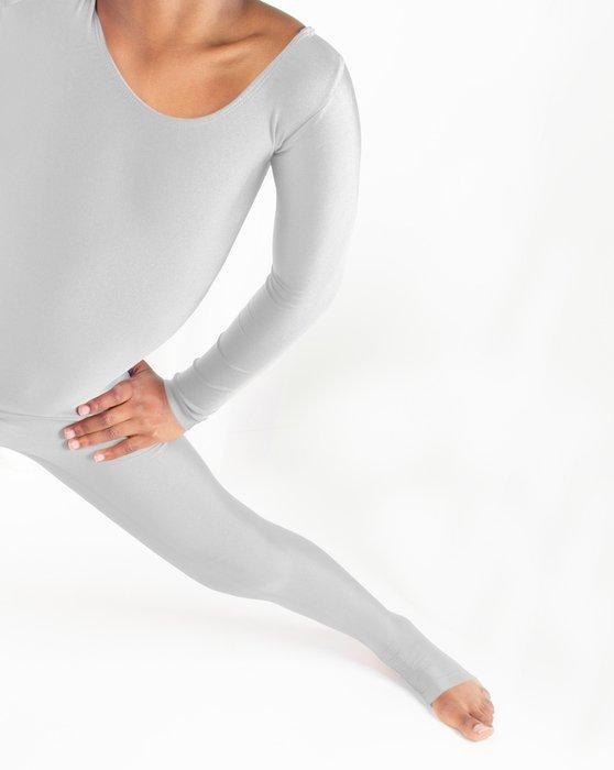 Light Grey Kids Long Sleeve Unitard Style# 5079   We Love Colors
