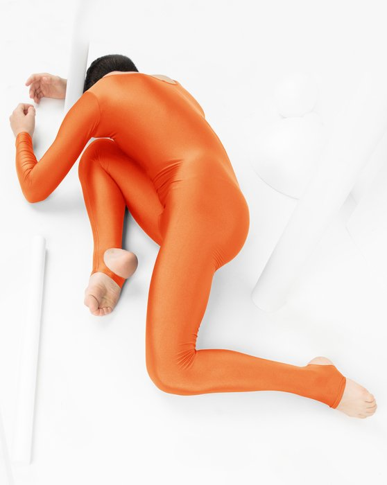 Orange Kids Long Sleeve Unitard Style# 5079 | We Love Colors