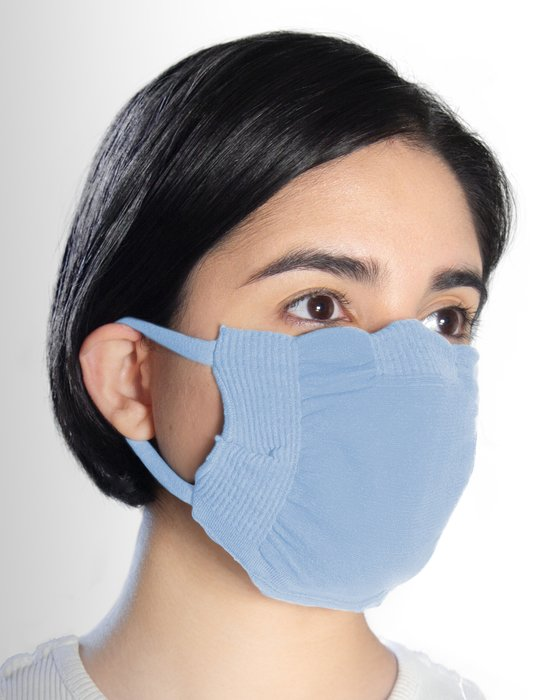 Baby Blue Washable Color Mask