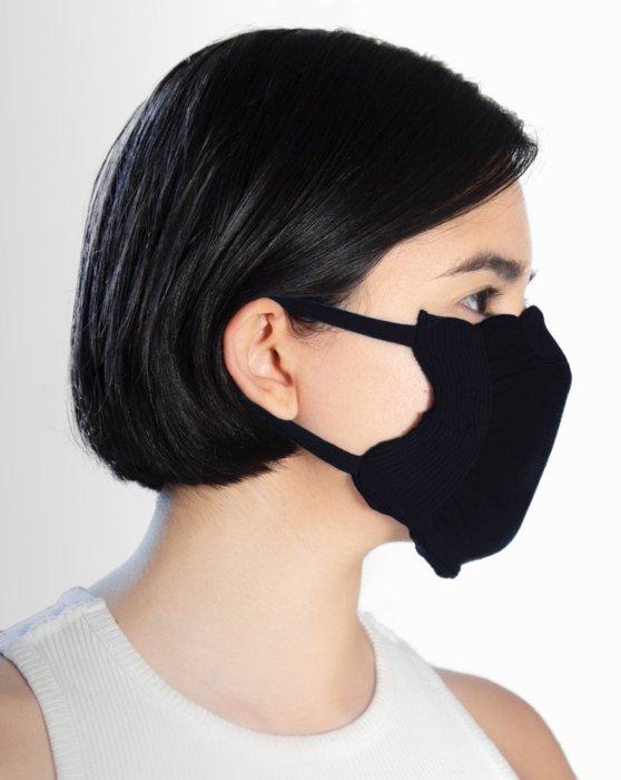Black Washable Color Mask Style# 8021 | We Love Colors