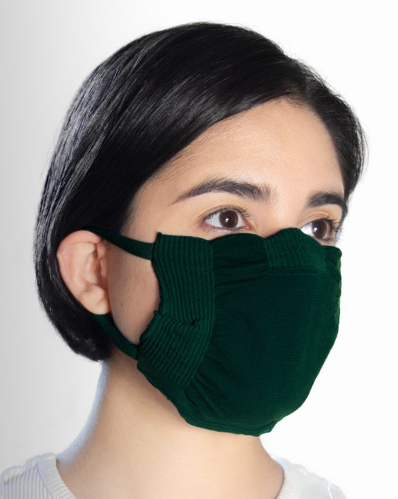 Hunter Green Washable Color Mask Style# 8021 | We Love Colors