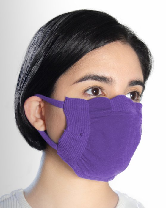 Lavender Washable Color Mask