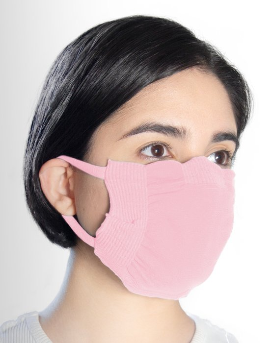 Light Pink Washable Color Mask