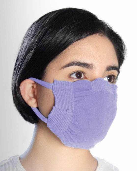 Lilac Washable Color Mask