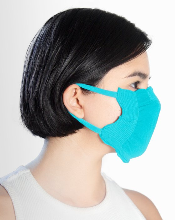 Neon Blue Washable Color Mask