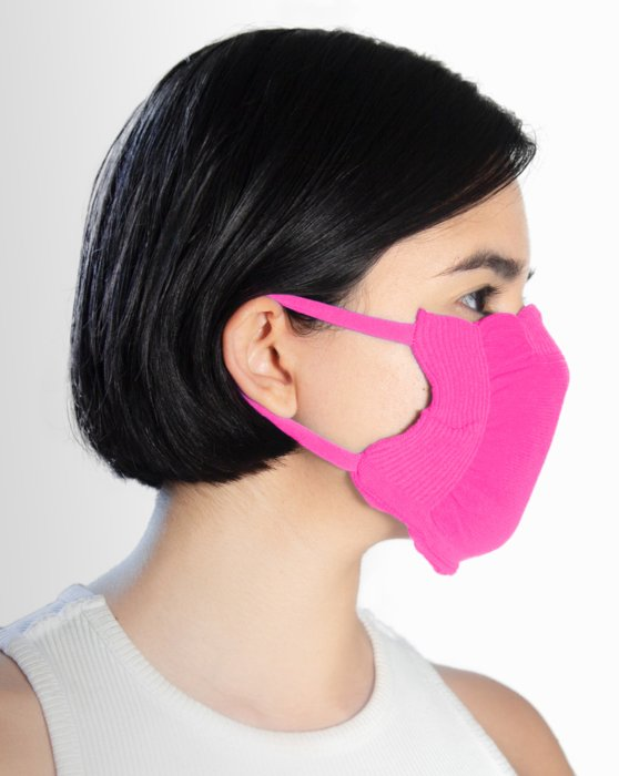 Neon Pink Washable Color Mask Style# 8021 | We Love Colors