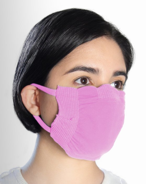 Orchid Pink Washable Color Mask