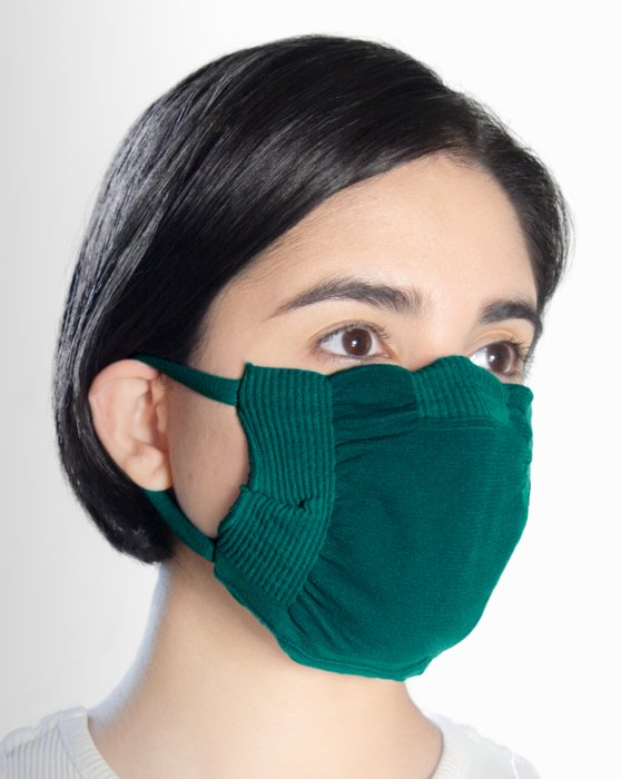 Spruce Green Washable Color Mask