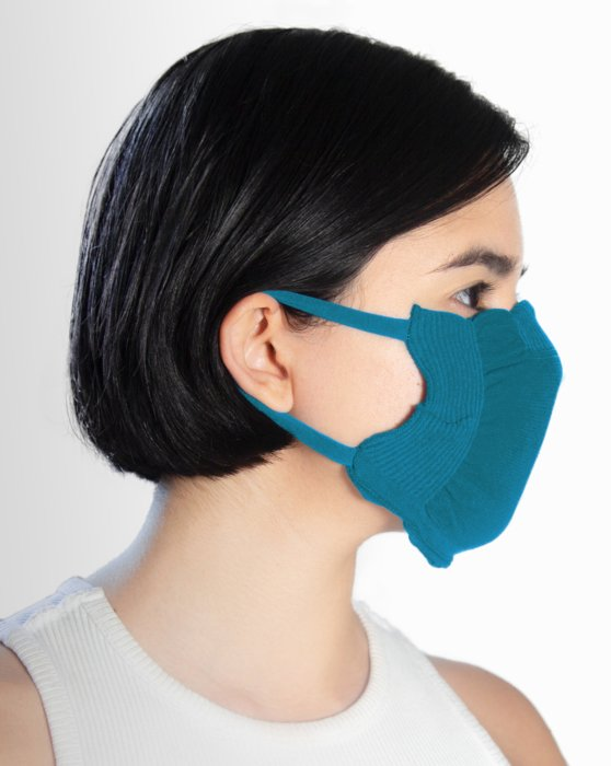 Teal Washable Color Mask Style# 8021 | We Love Colors