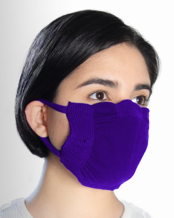 Violet Washable Color Mask