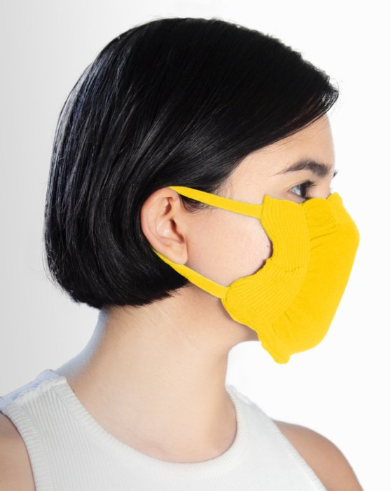 Yellow Washable Color Mask