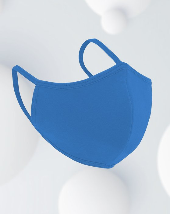 Medium Blue Antibacterial Mask Style# 8022 | We Love Colors