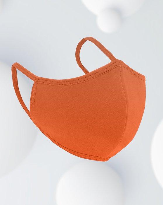 Orange Antibacterial Mask Style# 8022 | We Love Colors