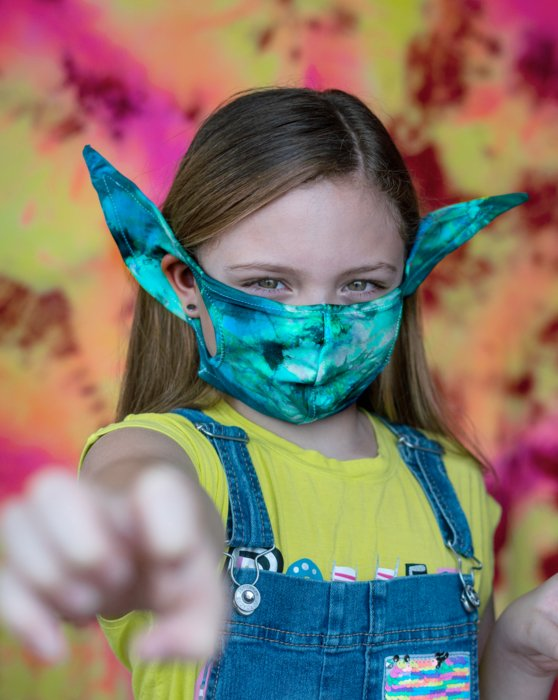 Kids Elf Mask