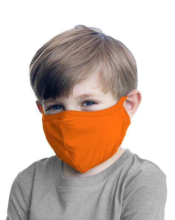Orange Kids Washable Color Mask Style# 8075   We Love Colors