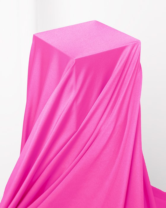 Neon Pink Fabric Shiny Tricot Style# 8079   We Love Colors