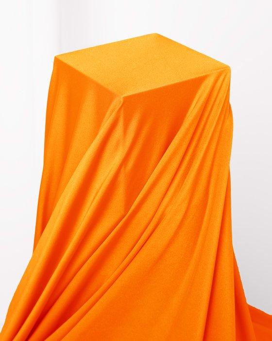 Neon Orange Fabric Shiny Tricot Style# 8079 | We Love Colors