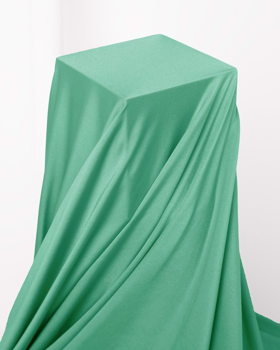Scout Green Fabric Shiny Tricot