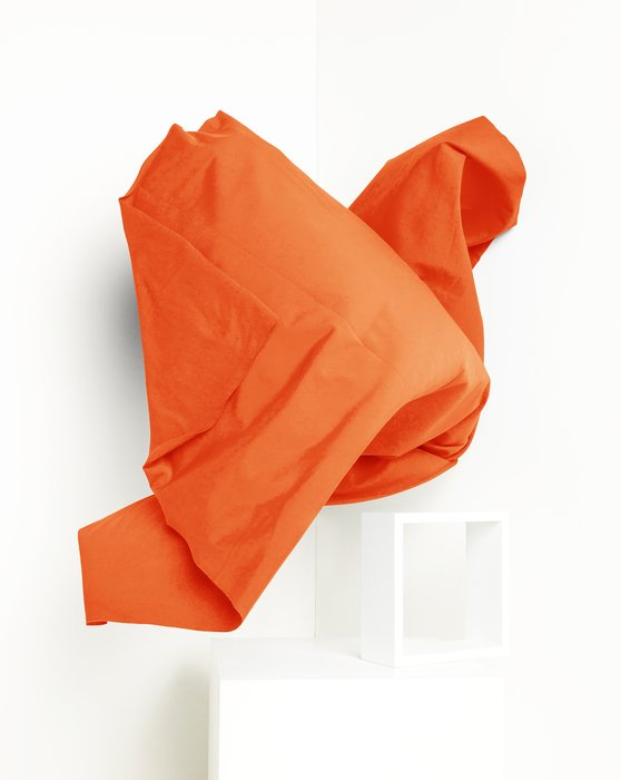 Orange Fabric Dull Tricot Style# 8101 | We Love Colors
