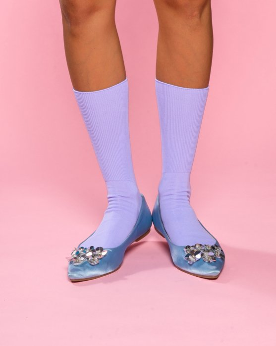 Pastel Colors Socks 6 Pack Style# 8201   We Love Colors