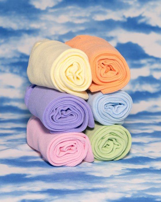 Pastel Colors Socks 6 Pack Style# 8201 | We Love Colors