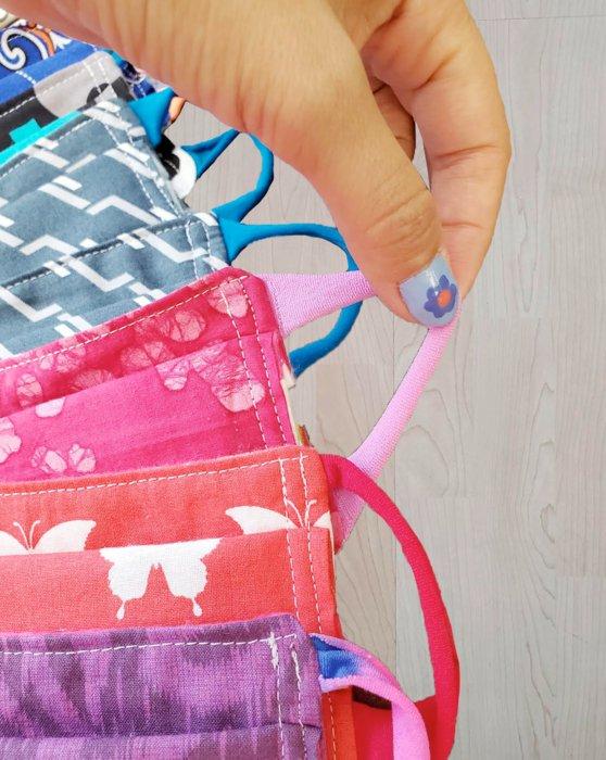 Soft Elastic Loops 50 Pack Style# 8990   We Love Colors