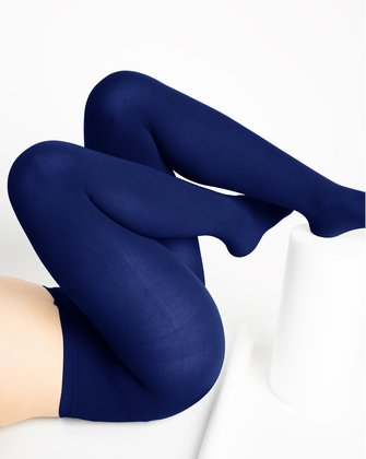1001 W Navy Tights