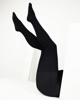 1008 W Black Plus Size Color Tights
