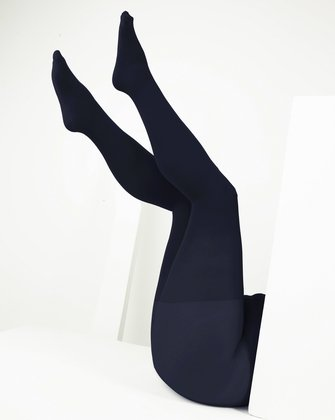 1008 W Charcoal Plus Size Color Tights