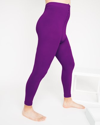 1025 Amethyst Footless Tights M