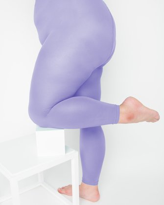 1025 W Lilac Footless Tights