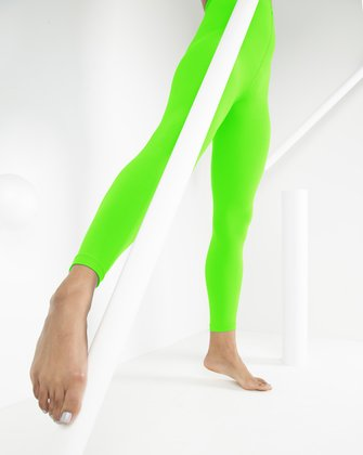 1025 W Neon Green Tights