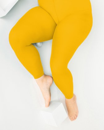1041 W Gold Plus Sized Footless Tights