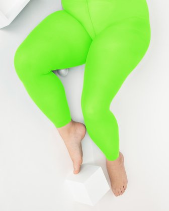 1041 W Neon Green Tights