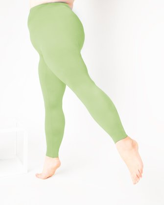 1047 W Mint Green Tights