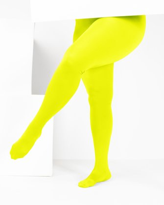 1061 W Neon Yellow Tights