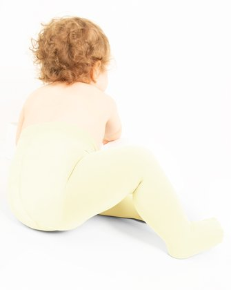 1075 Ivorysoft Opaque Kids Microfiber Tights