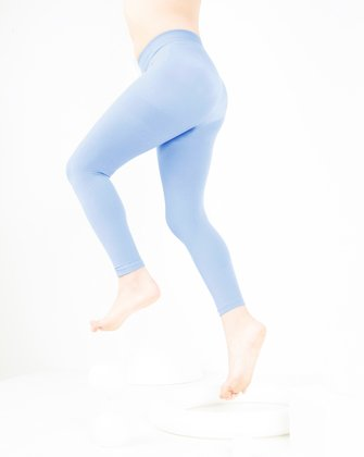 1077 W Baby Blue Tights