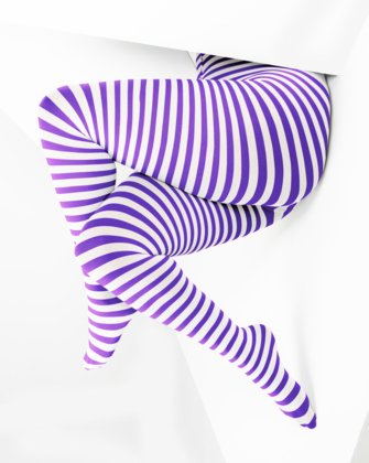 Lavender Womens Patterned Tights | We Love Colors