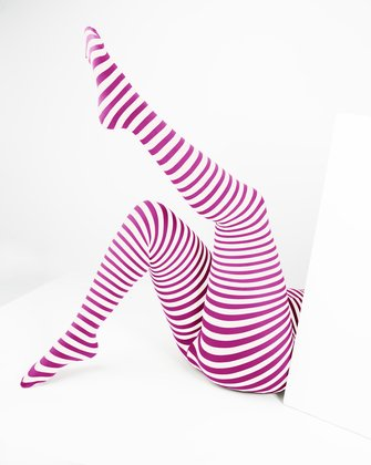 1204 W Fuchsia Tights