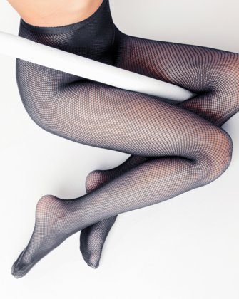 Charcoal Womens Fishnet Pantyhose | We Love Colors