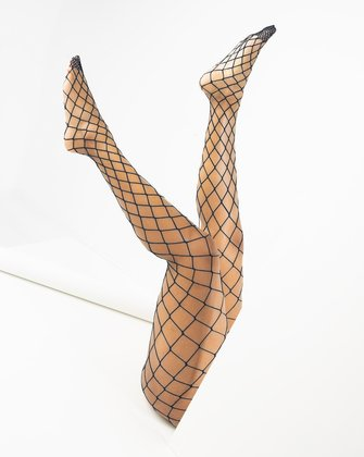 1405 Charcoal Diamond Net Fishnets
