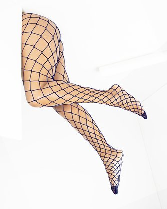 1405 Navy Diamond Net Fishnets