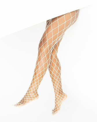 1405 White Diamond Fishnets