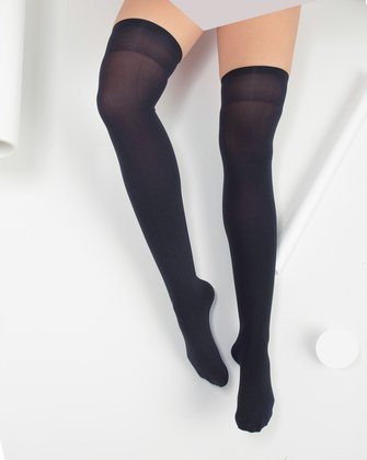 Charcoal Womens Thigh Highs | We Love Colors