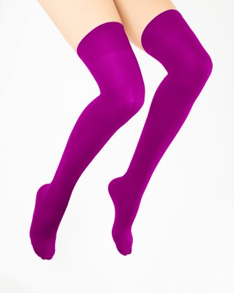 Magenta Womens Thigh Highs   We Love Colors