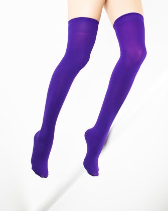 Violet Womens Thigh Highs | We Love Colors