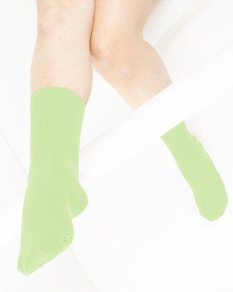 Mint Green Womens Socks | We Love Colors
