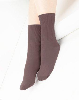 Mocha Womens Socks | We Love Colors